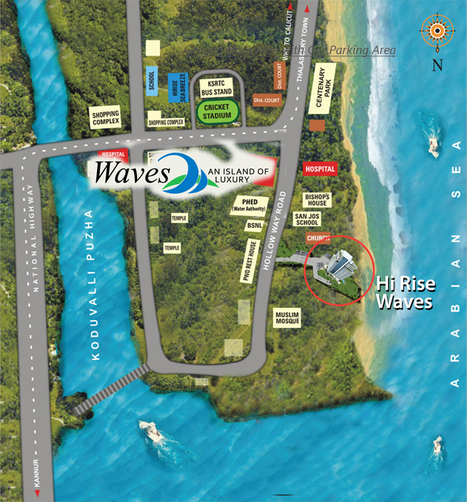 Waves Location